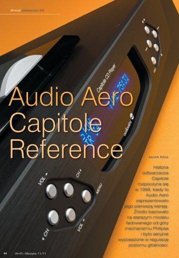 Historia odtwarzacza Capitole rozpoczyna się w 1998 ... - Audiofast