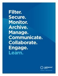 Filter. Secure. Monitor. Archive. Manage. Communicate. Collaborate ...