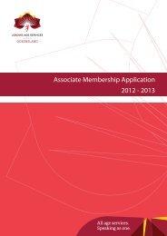 Associate Membership Application 2012 - 2013 - Leading Age ...