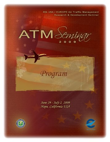 Program Booklet.pdf - the ATM Seminar website - EUROCONTROL ...