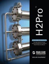 H2Pro Custom Pharmaceutical Reverse Osmosis System Brochure