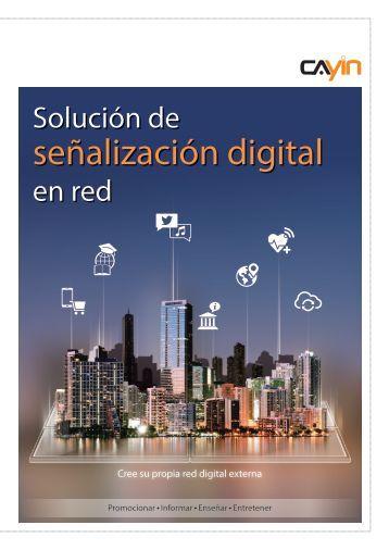 Solución de señalización digital en red - CAYIN Technology Co., Ltd