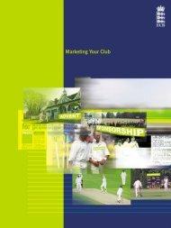Marketing Your Club - Ecb - England and Wales Cricket Board (ECB)