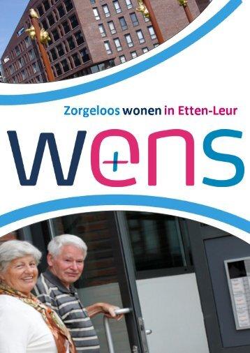 Adviesrapport zorgeloos wonen in Etten-Leur - Surplus Groep