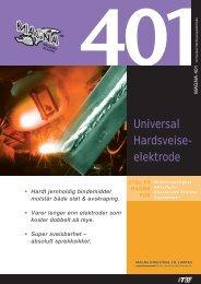 Universal Hardsveise- elektrode - abema