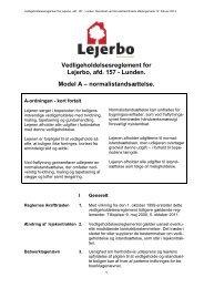 Regler og vedtægter - lundens.net