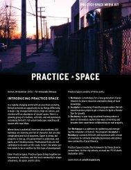 PRACTICE·SPACE MEDIA KIT - Squarespace