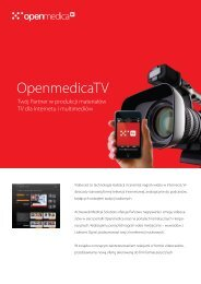 OpenmedicaTV - Activeweb Medical Solutions