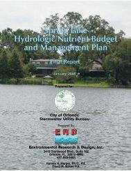 Spring Lake Hydrologic/Nutrient Budget & Management Final ...