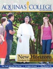 Fall 2012 - Aquinas College