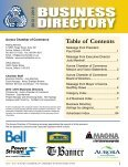 2012 / 2013 Business Directory - Aurora Chamber of Commerce - Page 5