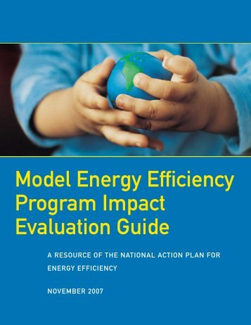 Model Energy Efficiency Program Impact Evaluation Guide (PDF