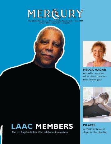 LAAC MEMBERS - The Los Angeles Athletic Club