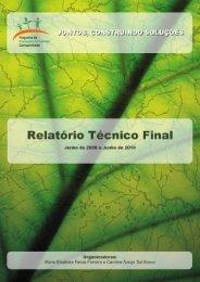 Cópia de RELATÓRIO TÉCNICO FINAL em 131210 final - Sema