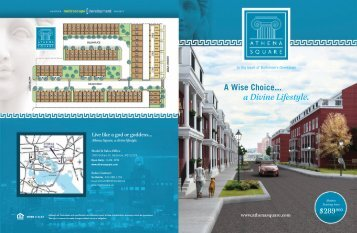 a Divine Lifestyle.  A Wise Choice... - Athena Square Baltimore's ...