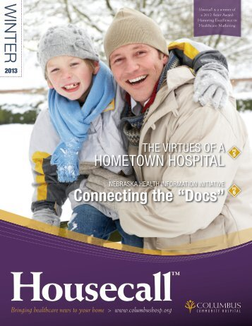 Winter 2013 - Columbus Community Hospital