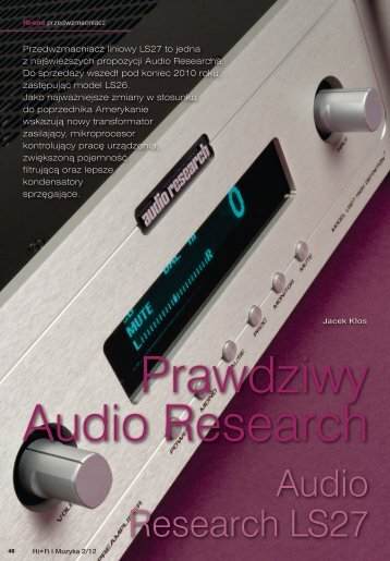 Audio Research LS27 - Audiofast