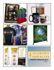 PHOTO CATALOG 2013 - Colorado Timberline