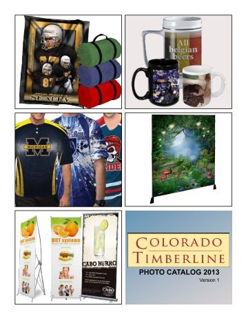 PHOTO CATALOG 2013 - Colorado Timberline