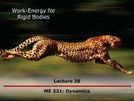 Work-Energy for Rigid Bodies