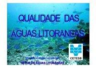 SETOR DE ÁGUAS LITORÂNEAS Claudia Condé Lamparelli - ASEC
