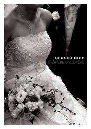 Bespoke Weddings - Orocco Pier