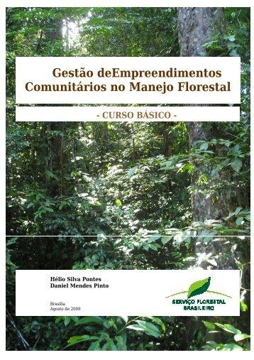 Gestão deEmpreendimentos Comunitários no Manejo Florestal