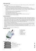 G10T modulio naudojimo instrukcija - Arevita ir Ko - Page 3