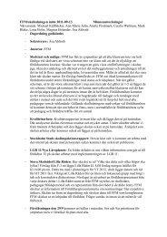 Protokoll - Föräldraföreningen vid Mälarhöjdens skola