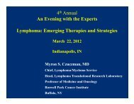 B-Cells - 11TH ANNUAL INDY HEMATOLOGY REVIEW