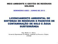 Licenciamento Ambiental (Alfredo Rocca Carlos Cardoso ... - ASEC