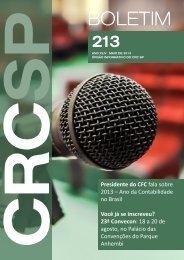Boletim CRC SP n° 213