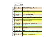 Jahresplan PC 2008