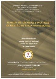 Manual de Técnicas e Práticas de Gestão de Ética ... - Crc SP