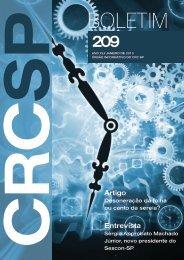 Boletim CRC SP 209