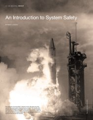 An Introduction to System Safety - NASA ASK Magazine