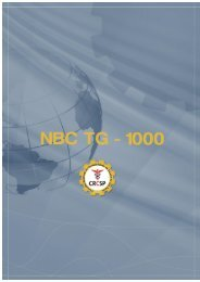 NBC TG 1000 - Crc SP