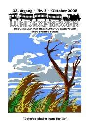 33. årgang · Nr. 8 · Oktober 2005 - lundens.net
