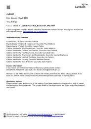 Public reports pack Monday 13-Jul-2015 19.00 Cabinet