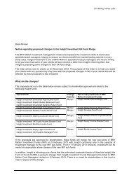 Adviser Letter - Insight Investment