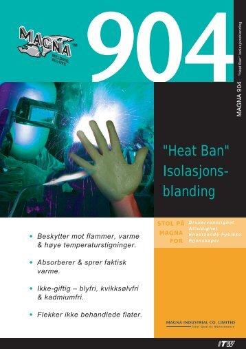 """Heat Ban"" Isolasjons- blanding - abema"