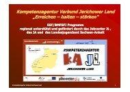 Kompetenzagentur Verbund Jerichower Land - Jugendwerk ...