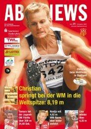 Christian springt bei der WM in die Weltspitze - ABC Ludwigshafen