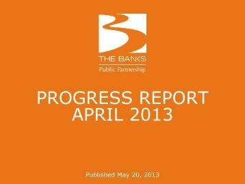 april 2013 monthly report (pdf, 3 mb) - The Banks Public Partnership