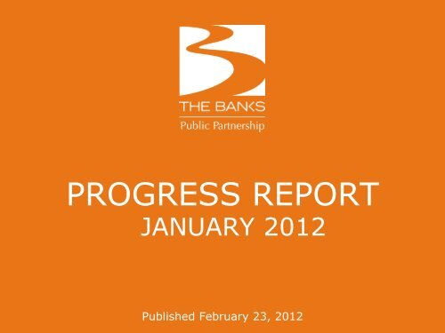 january 2012 monthly report (pdf, 2.6mb) - The Banks Public ...
