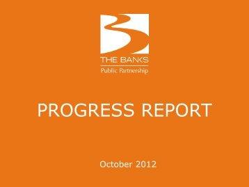 September 2012 Update - The Banks Public Partnership