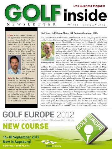 Golf Inside Januar 2012 - Caligari Golf Equipment AG