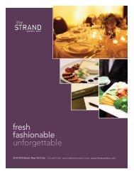 fresh - The Strand