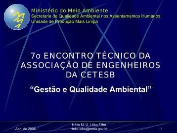 Ministério do Meio Ambiente - ASEC