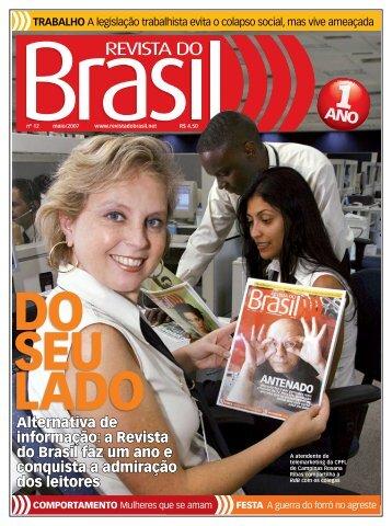 alternativa de informação: a revista do Brasil faz um ano ... - CNM/CUT